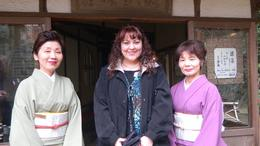Here I am with the 2 Tea Masters, after the ceremony., Martha W - March 2010