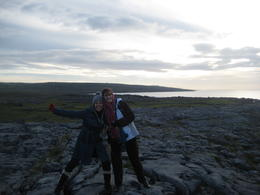 Walking of the The Burren is quite an experience , SaraG - December 2010