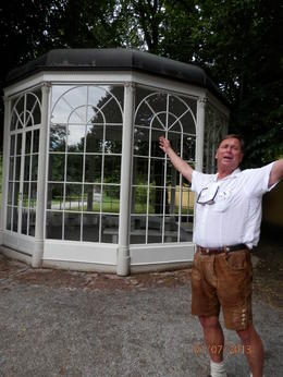Our fabulous guide actually sang a few bars to us as we visited the Gazebo. Did you know that tourist are not allowed into the Gazebo now because an and quot;older and quot; women tried to sing and ... , Marilyn B - August 2013