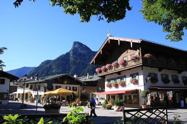 The picturesque village of Oberammergau - Munich