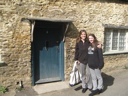 My daughter was excited to see this door. Other famous movies were filmed in this wonderful town! , Amy S - May 2011