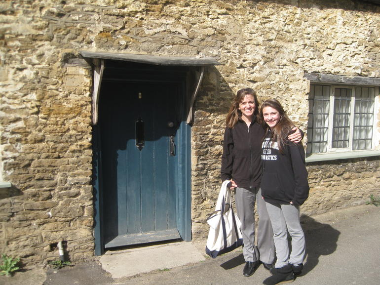 This door was in the movie Harry Potter - London
