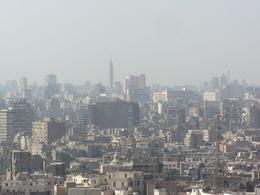 Took this picture of Cairo from the outer area of the Alabaster Mosque. Cairo is such a huge vibrant city., Cynthia S - January 2009