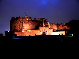 Edinburgh Castle on night , Sabrina F - January 2017
