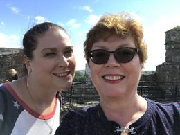 My daughter and I on our annual Mother-Daughter trip at the top of Blarney. , amcolli - August 2017
