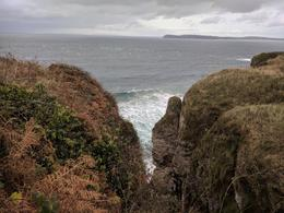 On the way to Carrick-a-Rede Rope bridge , yuditlev - November 2017