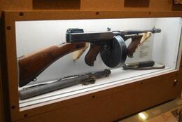 An old Tommy gun, Sam B! - April 2014