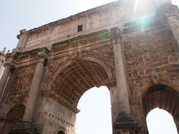 Arch of Titus in the Roman Forum , Tara - August 2012