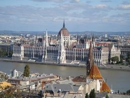 Impressive view of Pest, from Buda side, Mirtha B - October 2010