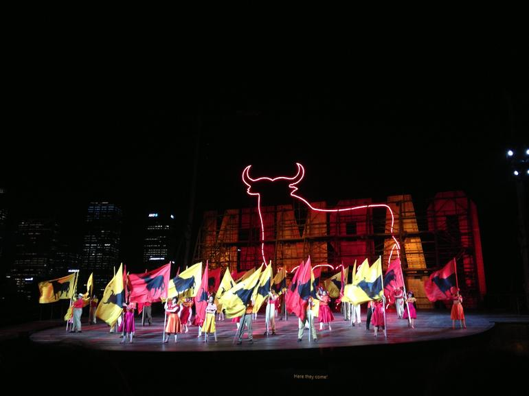 Carmen performed on the Sydney Harbour - Sydney