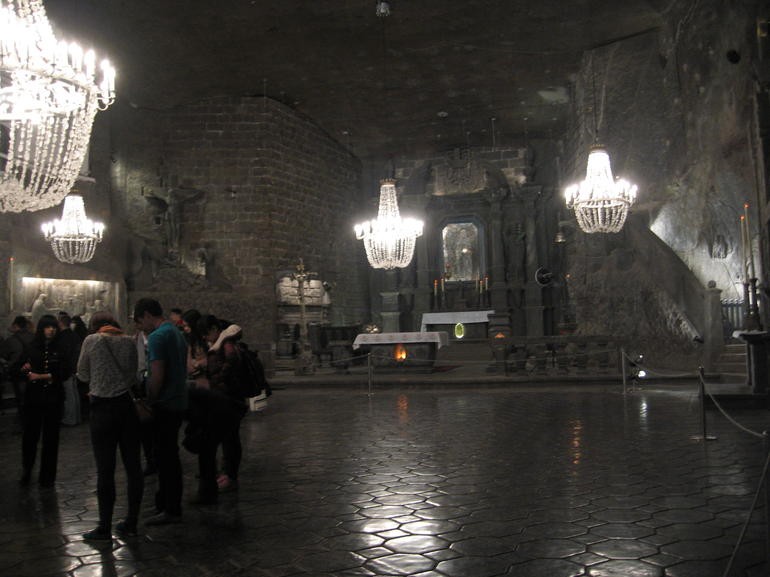 Cathedral in the Wieliczka Salt Mines - Krakow