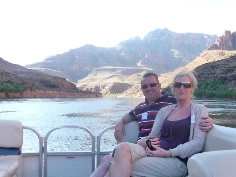 Cruising down the Colorado river - Las Vegas