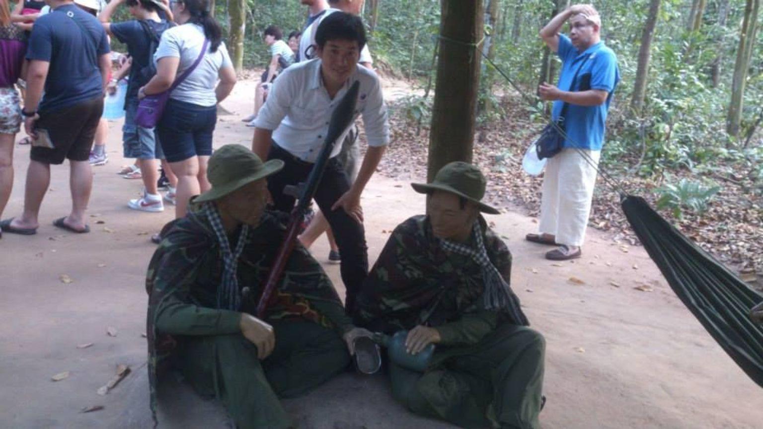 MAIS FOTOS, Excursão de meio dia para grupos pequenos pelos Túneis de Cu Chi saindo da Cidade de Ho Chi Minh