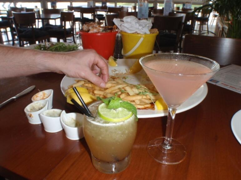 Delicous cocktails. -