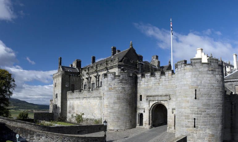 Stirling Castle on a sunny day! - Edinburgh