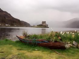 Eilean Donan Castle. , Ctamjam - April 2012