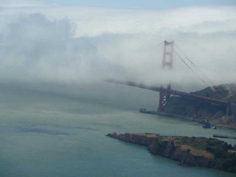 foggy bridge - San Francisco