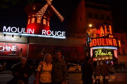 Moulin Rouge from the street , Mary Uguet - June 2015