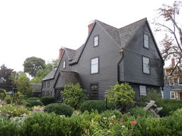 House of Seven Gables , Justina S - October 2012