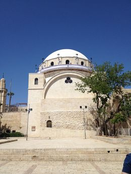 Jewish temple within Old Jerusalem, Cat - May 2015