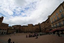Where the Palio horse race takes place, Jennifer D - June 2010