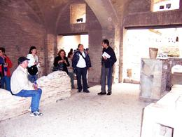 Tour guide explains that this was a neighborhood wine bar, not much different from those in Rome today., James E - June 2008