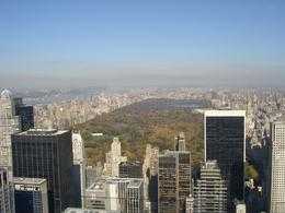 View overlooking Central Park from Top of the Rock (Rockefeller Center), ANTHONY G - November 2009