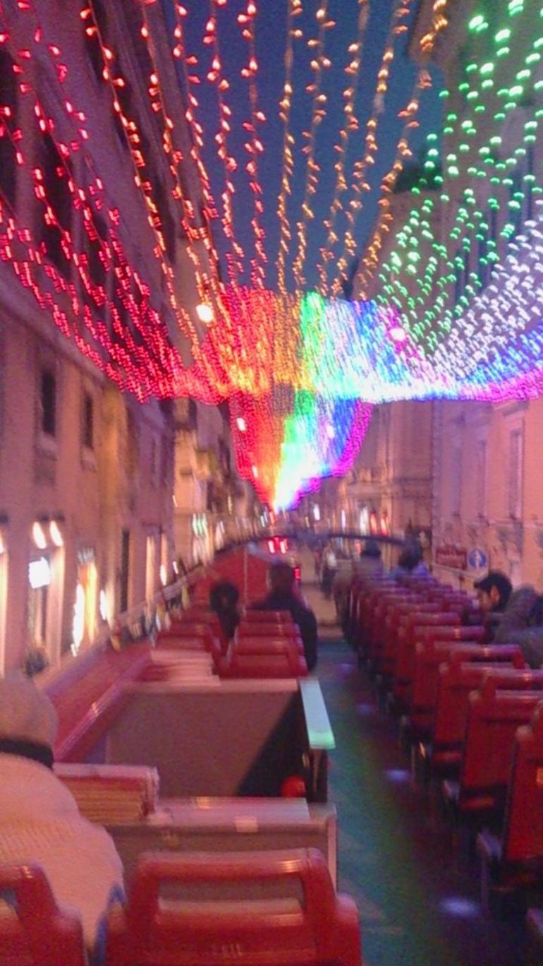 Vorweihnachszeit Via de Corso - Rome