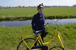 My wife and the Yellow bike for company! , Joydeep Das - May 2013