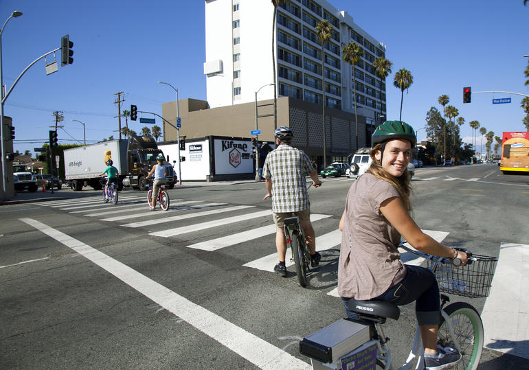 Zipping around LA - Los Angeles