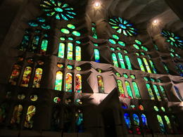 Inside La Sagrada Familia , Alan C - January 2017