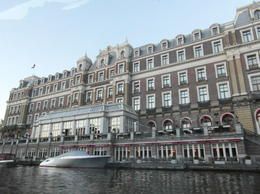 This is a big hotel alongside one of the canals. , Deborah W - May 2014