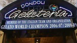 Dondoli Gelateria San Gimignano , Dino D - May 2013