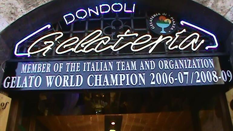 Dondoli Gelateria - Florence