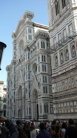 The famous Duomo of Florence! Front view., ALI M - October 2010