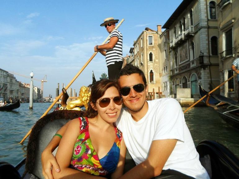 Gondola Ride - Venice