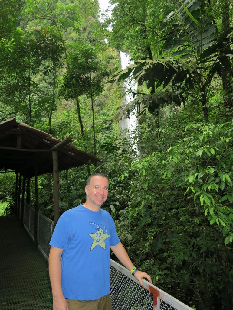 La Fortuna Waterfall - La Fortuna