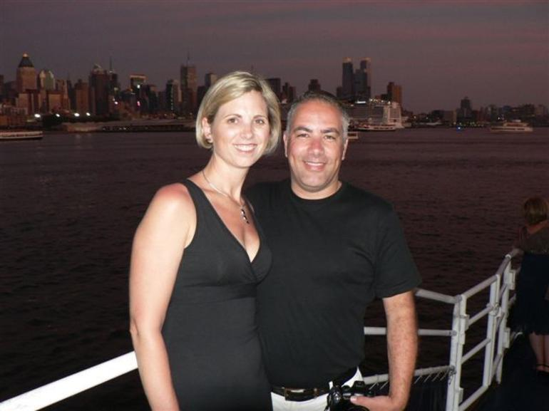 On the 4th July Cruise - New York City