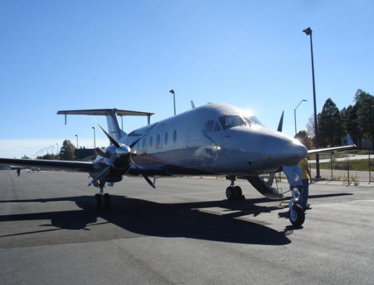 Our plane from Las Vegas - Las Vegas