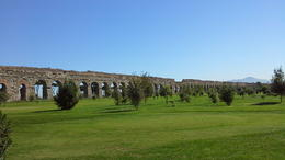 walking alone the aqueducts , Gene S - October 2013