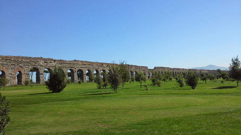 Roman ancient aqueducts - Rome