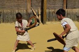 Roman Gladiator School, Jeff - July 2012
