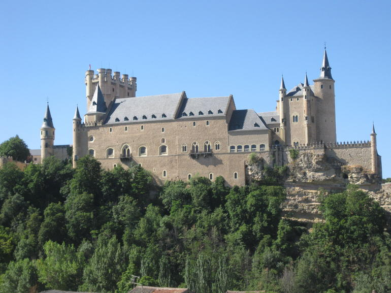 Segovia castle - Madrid