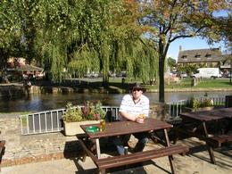 Enjoying a pint in the summer sun., Tighthead Prop - October 2010