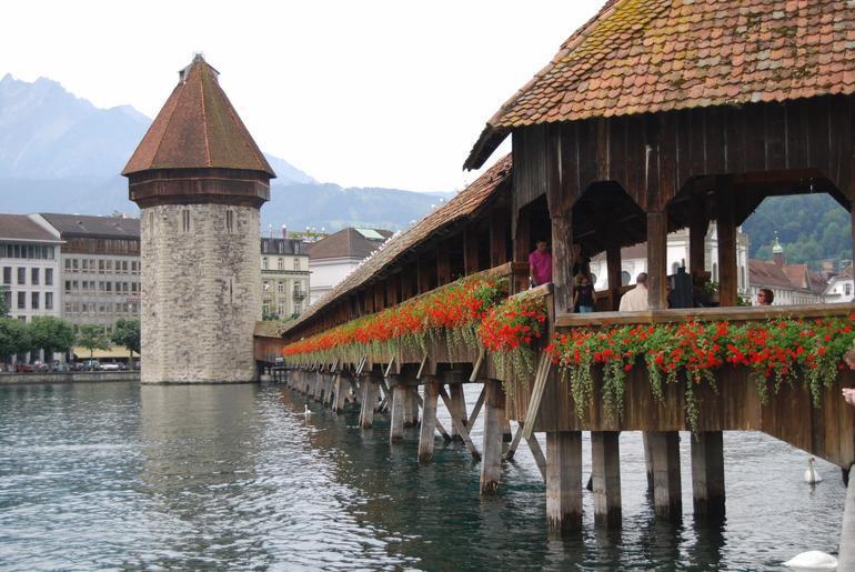 The Bridge In Lucerne - Zurich