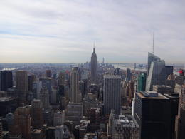 The Empire State Building and Downtown NYC from The Top of The Rock , David M - March 2014