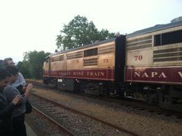 Vintage wine train, taylor - April 2013