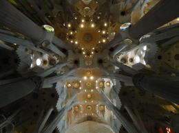 Then nave of Sagrada familia , obv - January 2017