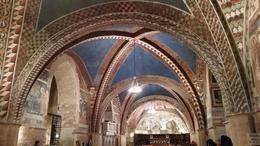 Teto da catedral em Assis , SouNiFeRo - April 2017