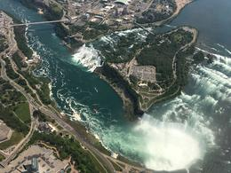 Helicopter ride over Horseshoe and American Falls , Deborah O - June 2017